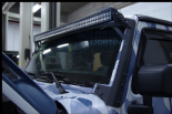 "JEEP JK  - 50"" DUPLEX 3 LIGHT BAR & WINDSHIELD MOUNT"